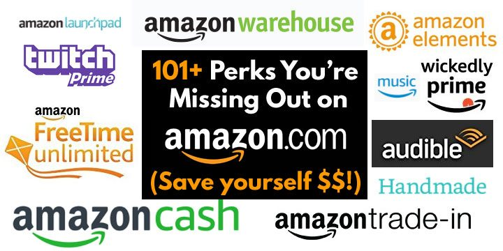 amazon hacks perks tips to save money prime membership free trials cash warehouse trade in restaurants fresh twitch wickedly prime audible kindle
