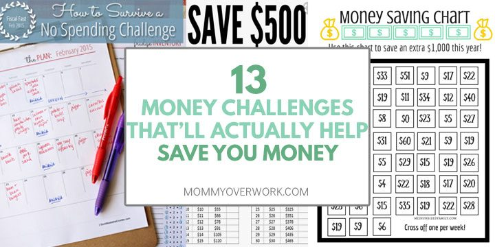 money challenges to save money atop no spending challenge plan, money saving chart for $1000
