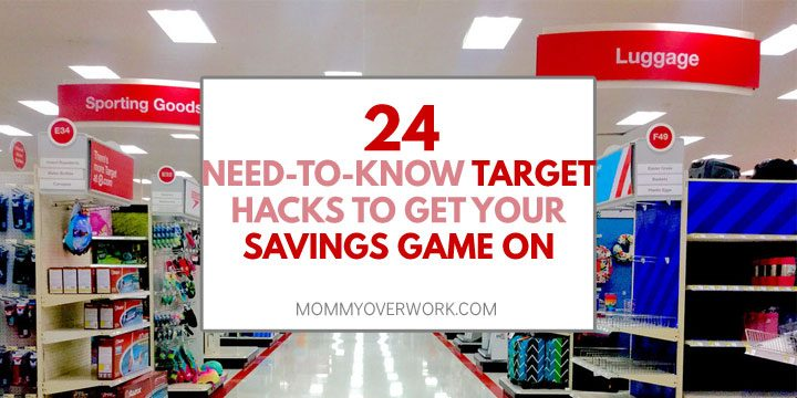 target hacks to get savings game on atop target aisle