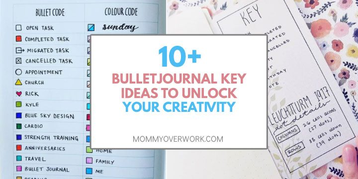 bullet journal key ideas to unlock creativity color code index fold out ideas