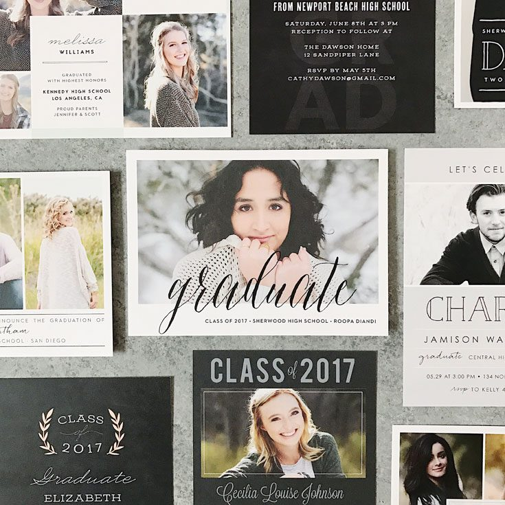how to write graduation thank you note graduation announcement cards