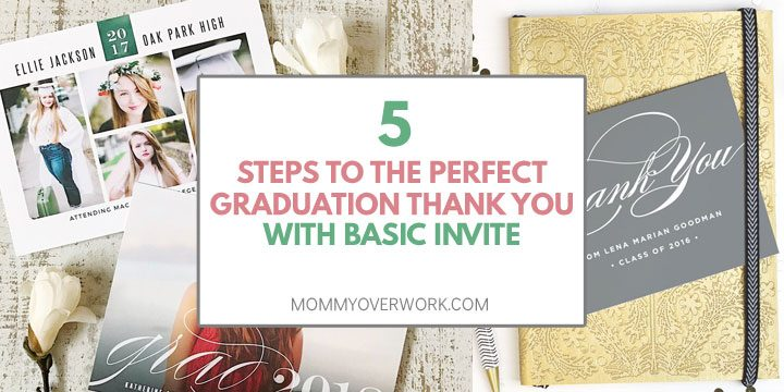 how to write graduation thank you note in 5 easy steps atop graduation announcements and graduation thank you card