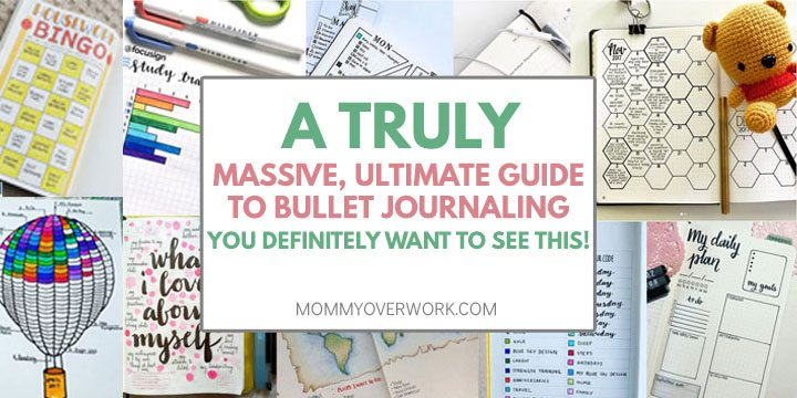 bullet journal - a truly massive ultimate guide to bullet journaling