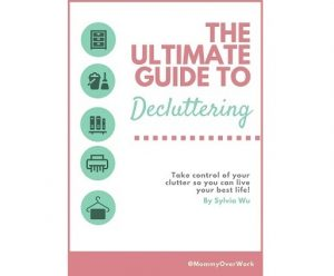ultimate guide to decluttering ebook cover