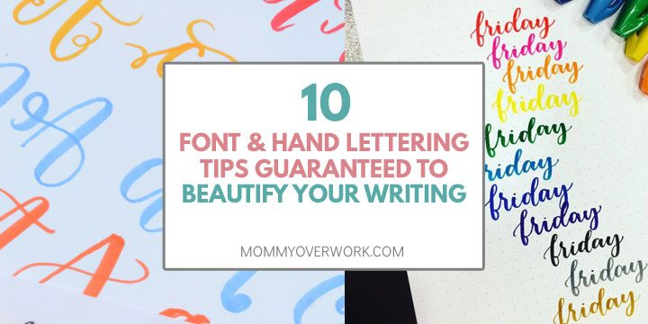 bullet journal font and hand lettering tips guaranteed to beautify your writing atop calligraphy practice worksheets