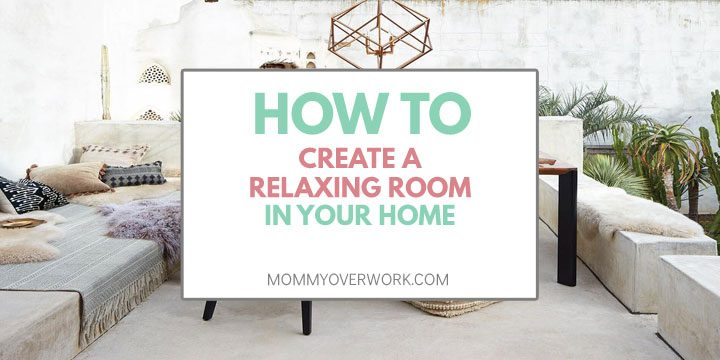 how to create a relaxing room in your home atop white outdoor space