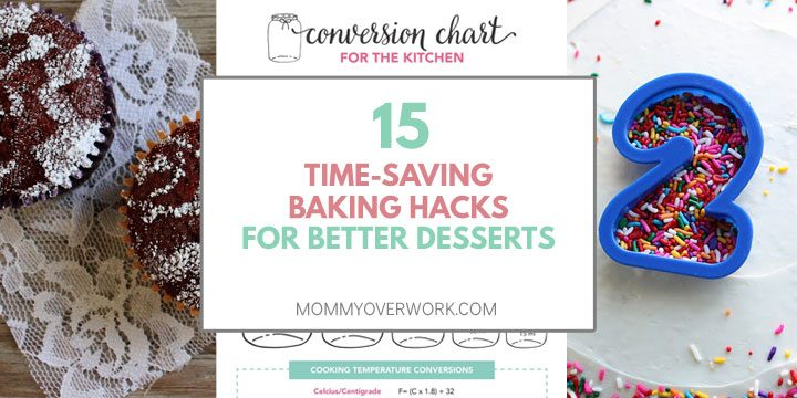 time saving baking hacks for better desserts