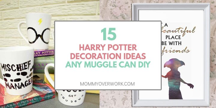 harry potter decoration ideas any muggle can diy
