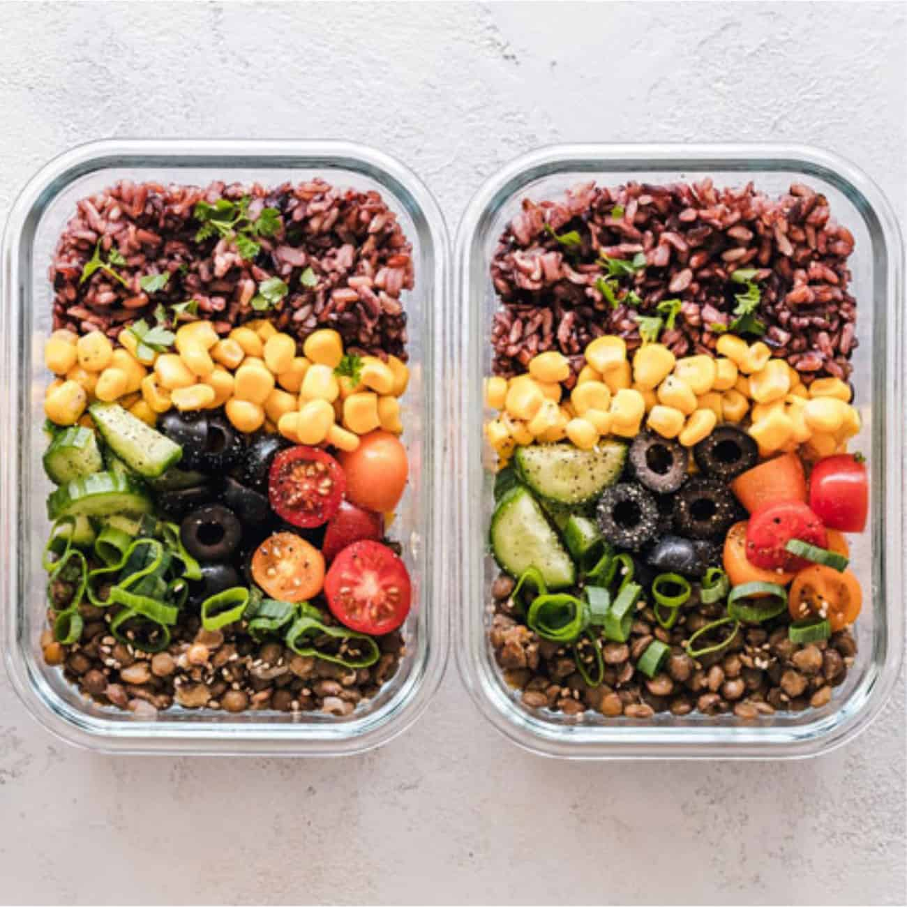 meal prep ideas containers lunch dinner healthy.