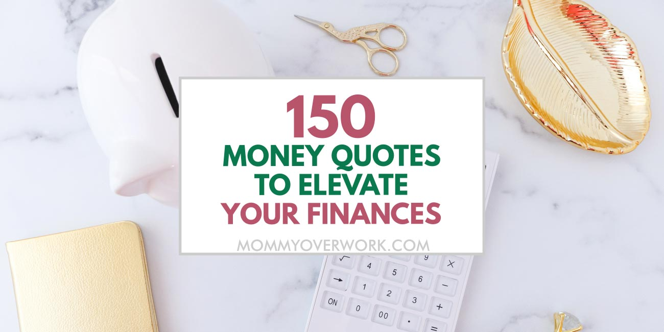 title image for money quotes, sayings, and expressions.